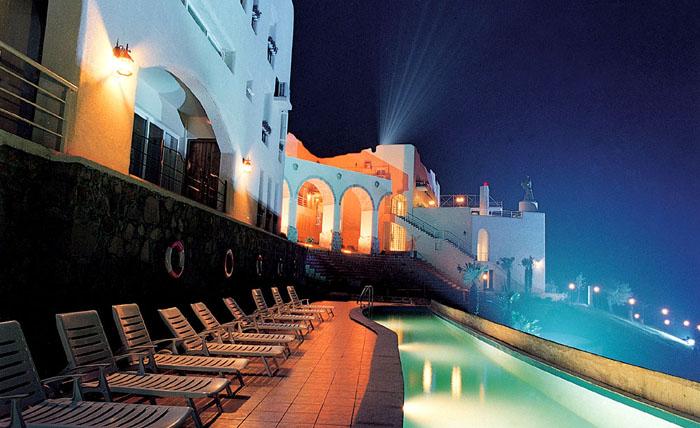 太湖月亮酒店夜景