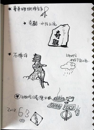 属于我の台湾手绘环岛旅行