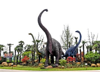 双休亲子恐龙园游